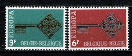Belg. 1968 EUROPA OBP/COB 1452/53** MNH - Belgien