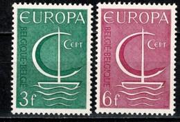Belg. 1966 EUROPA OBP/COB 1389/90** MNH - Belgien