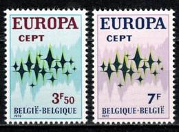 Belg. 1972 EUROPA OBP/COB 1623/24** MNH - Belgien