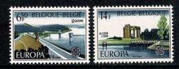 Belg. 1977 EUROPA OBP/COB 1853/54** MNH - Belgien