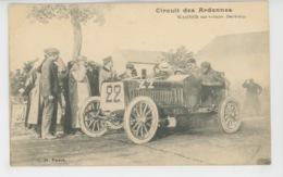 AUTOMOBILES - CIRCUIT DES ARDENNES - WAGNER Sur Voiture DARRACQ - Cartes Postales