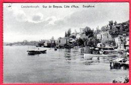 CONTANTINOPLE - Vue De Beycos, Côte D'Asie, Bosphore - Turquie