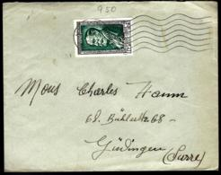 COURRIER EN PROVENANCE DE METZ - 1952 - COMPOSITEUR - MUSIQUE - - France