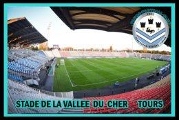CP. STADE .TOURS  FRANCE  STADE DE LA VALLEE DU CHER # CS.252 - Voetbal