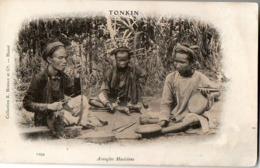 TONKIN - Aveugles Musiciens - Vietnam