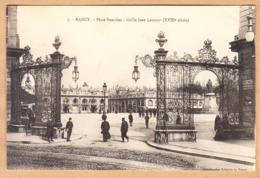 CPA Nancy, Place Stanislas- Grilles De Jean Lamour, Gel. - Nancy