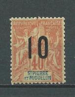 SAINT PIERRE ET MIQUELON 1912 .  N° 101. Neuf ** (MNH) - Unused Stamps