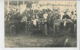 AUTOMOBILES - THÉRY , Vainqueur De La Coupe GORDON BENNET - Voitures De La Maison RICHARD BRASIER - Cartes Postales