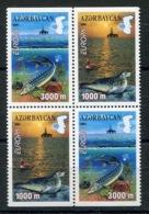 RC 13899 EUROPA 2001 AZERBAIDJAN BLOC DE 4 NEUF ** MNH - Europa-CEPT