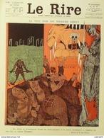 """REVUE """"LE RIRE""""-1920- 97-Dessin MARLE JOUENNE ARNAC JEANNIOT MIRANDE FABIANO - Libri, Riviste, Fumetti"""