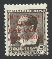 Spain, Huelva 5 C. 1936, MH - Emissions Nationalistes