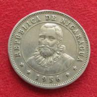 Nicaragua 25 Centavos 1956 KM# 18.1 *V2 - Nicaragua