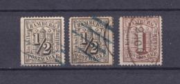 Hamburg - 1864 - Michel Nr. 10/11 - Gest. - 58 Euro - Hamburg