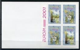 RC 13902 EUROPA 2001 GEORGIE CARNET NEUF ** MNH - 2001