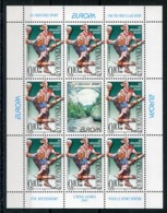 RC 13903 EUROPA 2001 MONTENEGRO BLOC FEUILLET NEUF ** MNH - Europa-CEPT