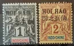 HOI-HAO 1903/04 - MLH - YT 16, 17 - 1c 2c - Neufs