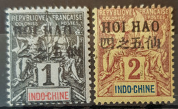 HOI-HAO 1903/04 - MLH - YT 16, 17 - 1c 2c - Unused Stamps