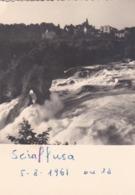 FOTOGRAFIA  D' EPOCA - SVIZZERA - SCIAFFUSA - ANNO. 1961 - SH Schaffhouse