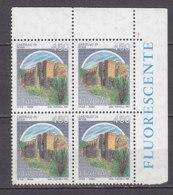 PGL DF756 - ITALIA REPUBBLICA 1994 SASSONE N°1521II ** QUARTINA CASTELLI ROTOCALCO - 1991-00:  Nuovi