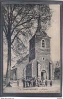 Carte Postale 59. Gouzeaucourt  L'église  Très Beau Plan - France