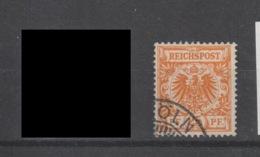 DR MNr. 49 Ba   Gest. Geprüft - Used Stamps