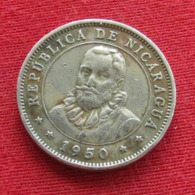 Nicaragua 10 Centavos 1950 KM# 17.1 - Nicaragua