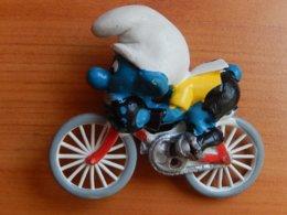 SCHTROUMPFS  -  CYCLISTE - Smurfs