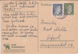 German Feldpost WW2: Postal Stationary From RAD Abt. 3/231 Unterwied P/m Taan (Rhongebirge) - Militaria