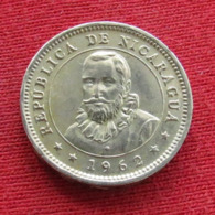 Nicaragua 5 Centavos 1962 KM# 24.2 - Nicaragua