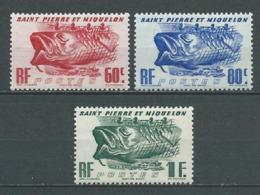 SAINT PIERRE ET MIQUELON 1947 .  N°s 329 , 330 Et 331 . Neufs  ** (MNH) - Neufs