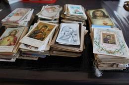 Lot D'images Pieuses (nombre Inconnu) Le Poids Est De 1 Kg 900 ( Complet  + - 2 100 Kg )  Sans L'emballage - Images Religieuses