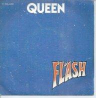 """45 Tours SP -  QUEEN  - EMI 64205   """" FLASH """" + 1 - Vinyl-Schallplatten"""