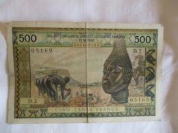Afrique Occidentale Française: 500 Francs 1959 - West African States