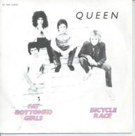 """45 Tours SP -  QUEEN  - EMI 61846   """" BICYCLE RACE """" + 1 - Vinyl-Schallplatten"""