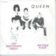 "45 Tours SP -  QUEEN  - EMI 61846   "" BICYCLE RACE "" + 1 - Vinyl Records"