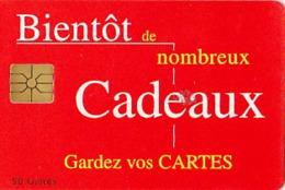 Maroc Télécarte Ave Phone  Gem De 50 Unités  Bientôt De Nombreux Cadeaux - Marokko