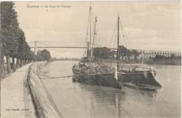 D17 - CHARENTE - LE PONT DE TONNAY - Voiliers - Barque - Autres Communes