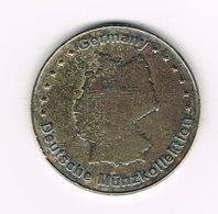 // TOKEN DEUTSCHE MÜNZKOLLEKTION KOBLENZ FESTUNG EHRENBREITSTEIN - Souvenir-Medaille (elongated Coins)