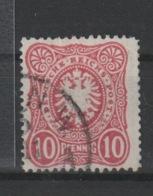 DR MNr. 41 B Plf. III Gest. Geprüft - Used Stamps