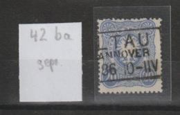 DR MNr. 42 Ba Gest. Geprüft - Used Stamps
