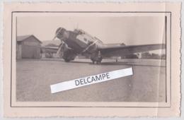 AVIATION AIR FRANCE Années 1930 - Photo Originale D'un Avion De La Compagnie Sur Aérodrome De RABAT ( Maroc ) - Aviazione