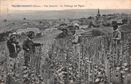 51 - Villers-Marmery - Le Sulfatage Des Vignes Magnifiquement Animé - Un Beau Panorama - Sonstige Gemeinden