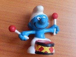 SCHTROUMPF  - JOUANT DU TAMBOUR - Smurfs