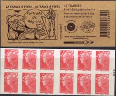 FRANCE Carnet 4197-C1 ** MNH Non Plié Marianne De Beaujard Vendu Sous La Faciale 12,60 € - Booklets
