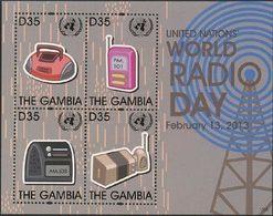 GAMBIE Journée De La Radio 4v (1306) Neuf ** MNH - Gambia (1965-...)