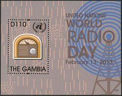 GAMBIE Bloc Journée De La Radio (1306) Neuf ** MNH - Gambie (1965-...)