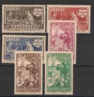 Guadeloupe - 1935 - N°Yv. 127 à 132 - Série Complète - Tricentenaire Des Antilles - Neuf * / MH VF - Guadeloupe (1884-1947)