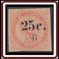 Réunion 1859-1891 - N° 04 (YT) N° 4 (AM) Neuf *. Très Beau. - Nuevos