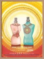 CC Carte Parfumée 'JEAN PAUL GAULTIER' #25 'SUMMER 2008' JPG Perfume Card - Modernes (à Partir De 1961)