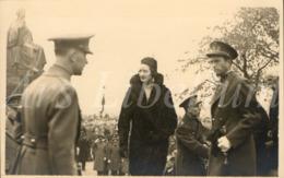 Postcard / CPA / ROYALTY / Belgique / België / Reine Astrid / Koningin Astrid / Roi Leopold III / Armistice / 1934 - Personnages